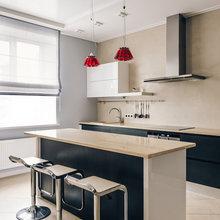 Фотография: Кухня и столовая в стиле Хай-тек, Дом, Дома и квартиры, Проект недели – фото на InMyRoom.ru