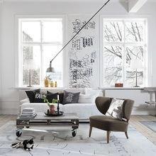 Фотография: Гостиная в стиле Лофт, Советы, Ремонт, Потолок, Ремонт на практике – фото на InMyRoom.ru