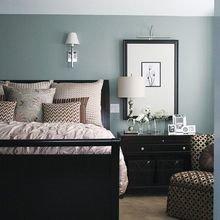 Фотография: Спальня в стиле Кантри, Классический, Скандинавский, Эклектика, Декор интерьера, Декор, Мебель и свет, Советы, Черный – фото на InMyRoom.ru