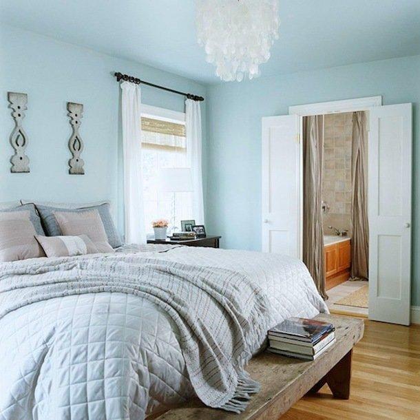 Фотография: Спальня в стиле Скандинавский, Малогабаритная квартира, Квартира, Освещение, Декор, Дома и квартиры – фото на InMyRoom.ru