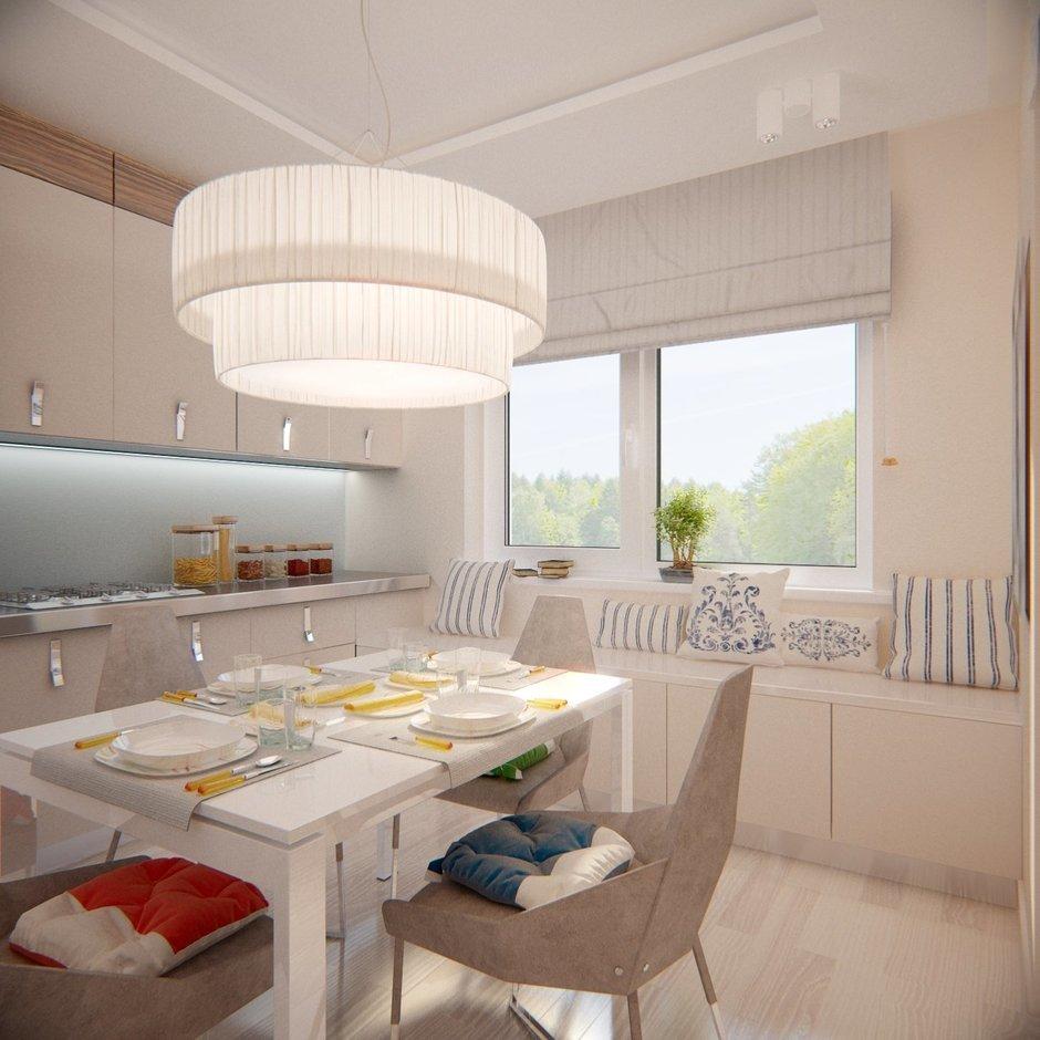Фотография: Кухня и столовая в стиле Современный, Квартира, Проект недели – фото на InMyRoom.ru