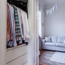 Фотография: Гардеробная в стиле Скандинавский, Декор интерьера, Квартира – фото на InMyRoom.ru