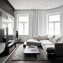 Фотография: Гостиная в стиле Современный, Минимализм, Квартира, Дома и квартиры – фото на InMyRoom.ru