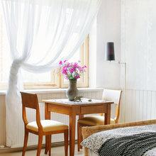 Фотография: Спальня в стиле Скандинавский, Кантри, Дом, Дома и квартиры, Проект недели, Дача – фото на InMyRoom.ru