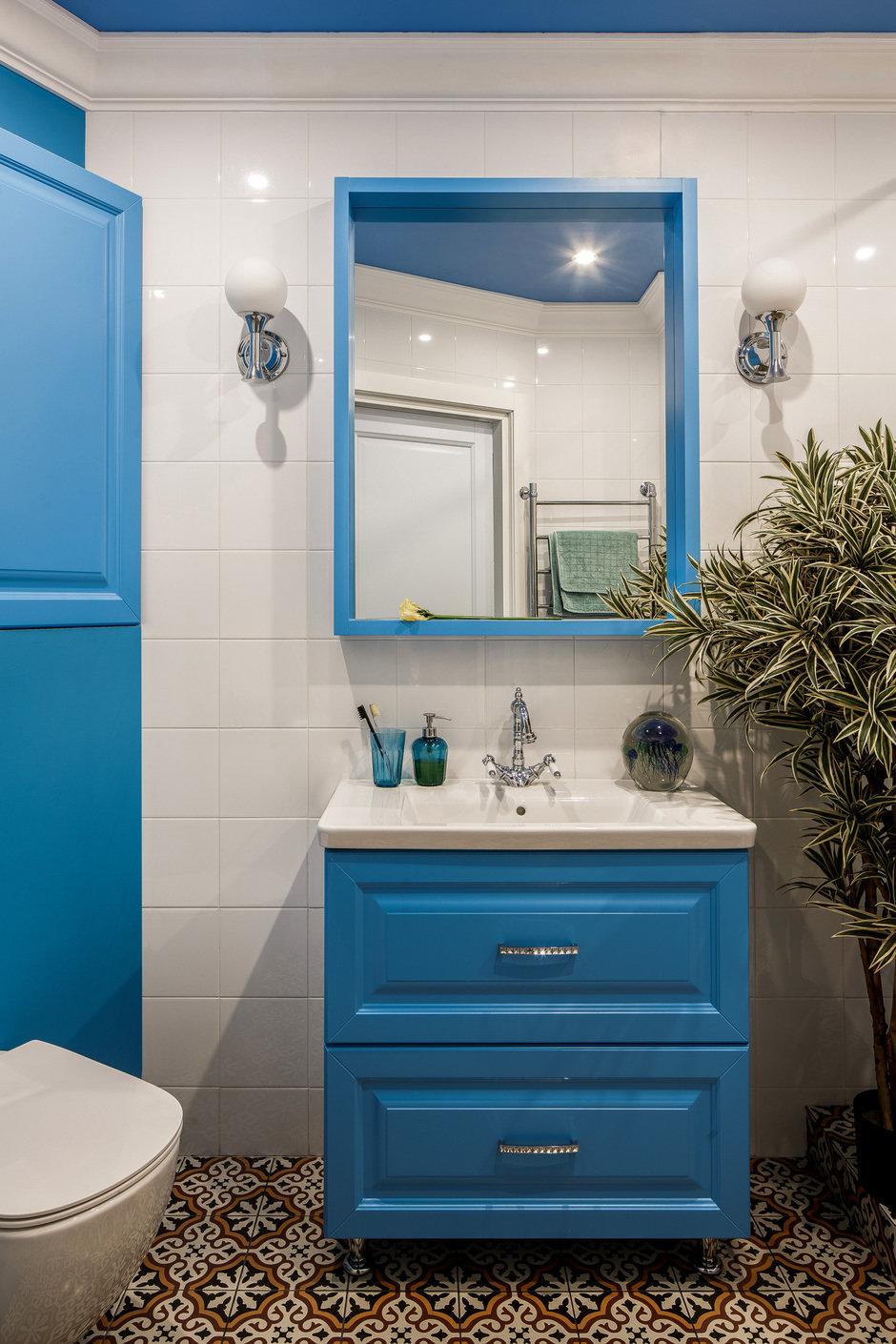 Фотография: Ванная в стиле Современный, Квартира, Проект недели, Монолитный дом, 3 комнаты, 60-90 метров, Саратов, Quadrum Studio – фото на InMyRoom.ru