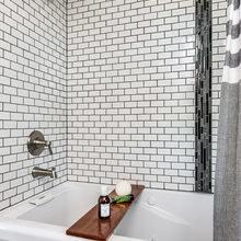 Фотография: Ванная в стиле Скандинавский, Дача, Дом и дача – фото на InMyRoom.ru