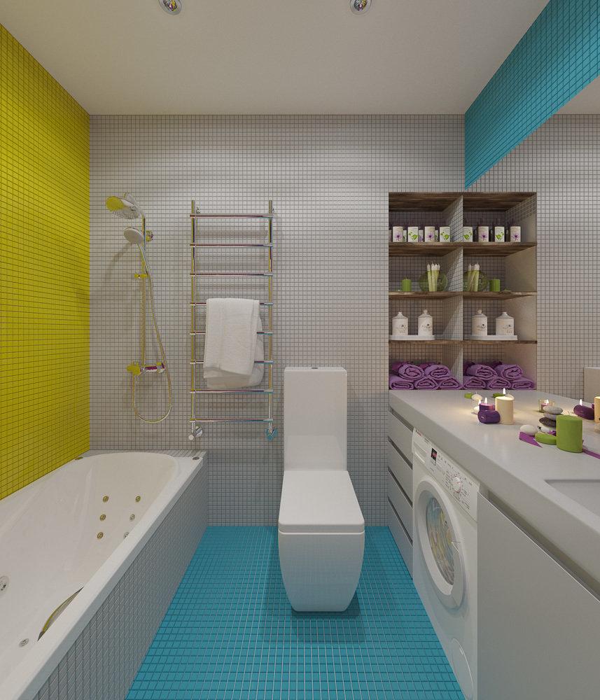 Фотография: Ванная в стиле Современный, Эклектика, Квартира, Дома и квартиры, IKEA, Проект недели – фото на InMyRoom.ru