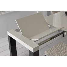 Прямоугольный раздвижной обеденный стол INES