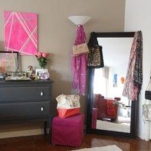 Фото из портфолио Девичья квартира с намёком на гламур – фотографии дизайна интерьеров на INMYROOM