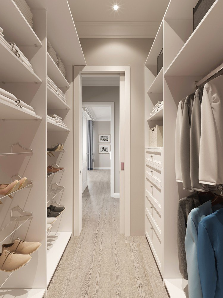 Визуализация дизайн проекта квартиры в жк империал.