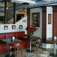 Фото из портфолио Дизайн ресторанов – фотографии дизайна интерьеров на InMyRoom.ru