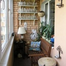 Фотография: Балкон в стиле Кантри, Декор интерьера, Квартира, Декор – фото на InMyRoom.ru