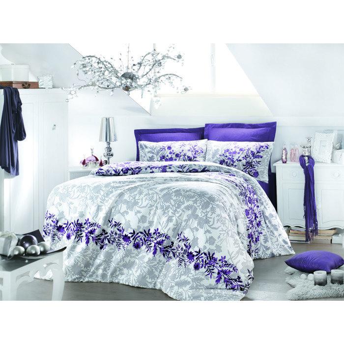 Комплект постельного белья евро VIOLETTA