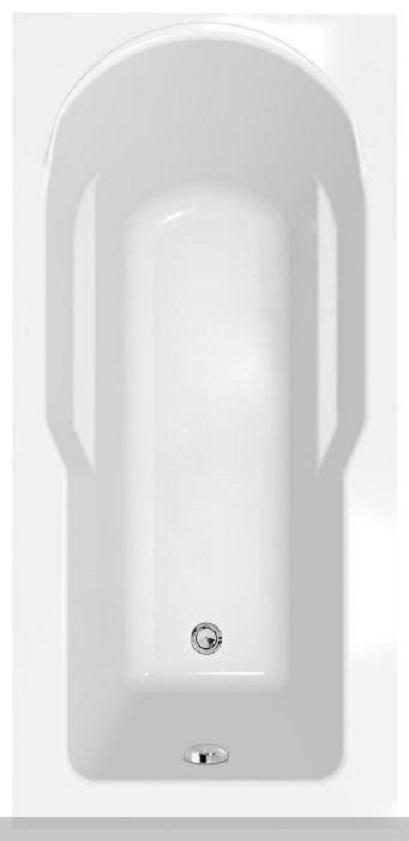 Ванна акриловая Cersanit Santana wp-Santana*170 170x70 цв.белый