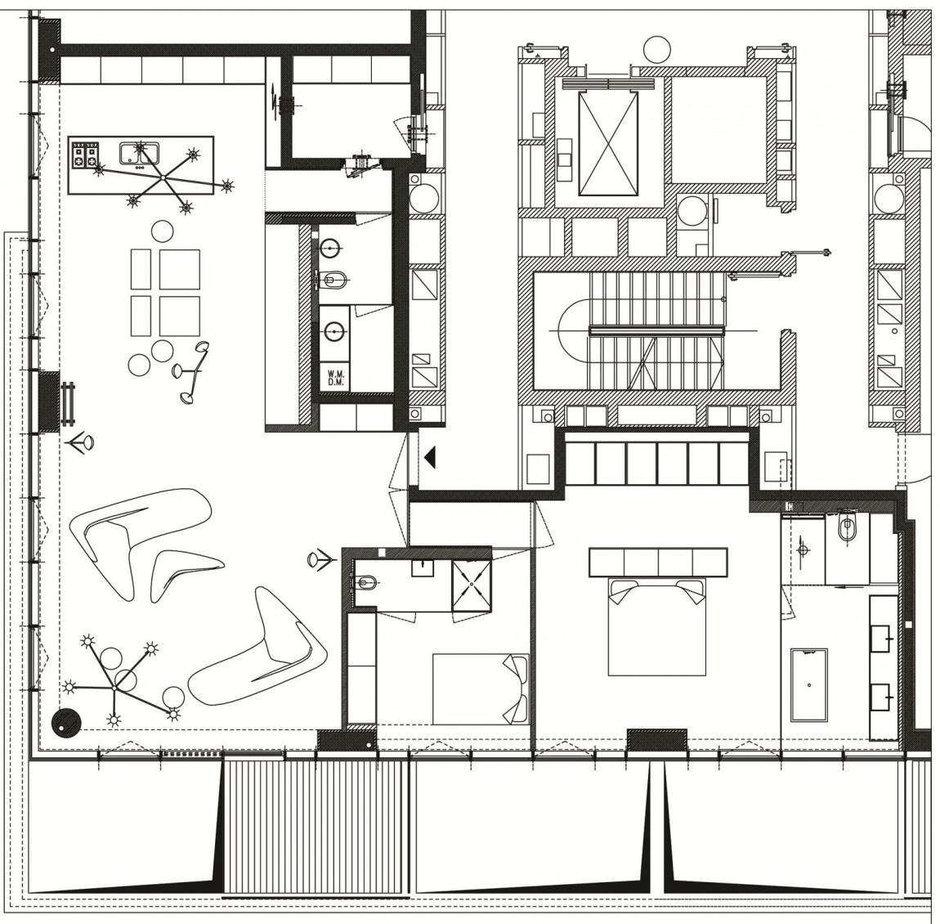 Фотография: Планировки в стиле , Декор интерьера, Квартира, Дома и квартиры, Тель-Авив – фото на InMyRoom.ru
