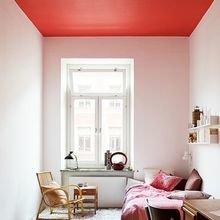 Фотография: Спальня в стиле Скандинавский, Декор интерьера, Дизайн интерьера, Цвет в интерьере, Потолок – фото на InMyRoom.ru