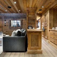 Фотография: Гостиная в стиле Кантри, Дом, Дома и квартиры, Шале – фото на InMyRoom.ru