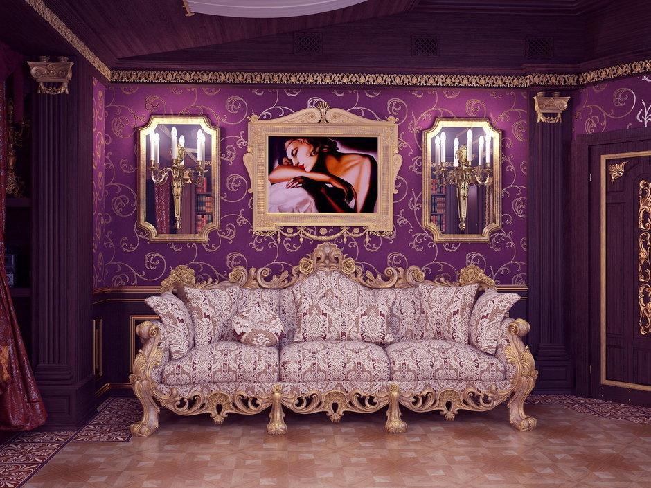 Фотография: Гостиная в стиле Классический, Современный, Квартира, Дома и квартиры – фото на InMyRoom.ru