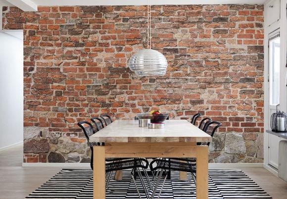 Фотография: Кухня и столовая в стиле Лофт, Декор интерьера, Декор дома, Стены – фото на InMyRoom.ru