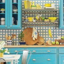 Фотография: Кухня и столовая в стиле Кантри, Интерьер комнат, Переделка – фото на InMyRoom.ru