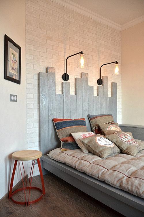 Фотография: Спальня в стиле , Лофт, Квартира, Дома и квартиры, Системы хранения, Индустриальный, Женя Жданова – фото на InMyRoom.ru