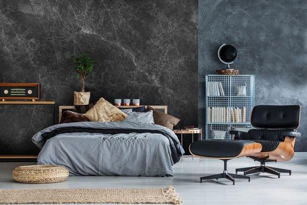 Фотография: Спальня в стиле Лофт, Декор интерьера, Гид, «Экспострой на Нахимовском», ваби-саби – фото на InMyRoom.ru