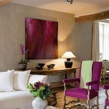 Фотография: Гостиная в стиле Кантри, Современный, Декор интерьера, Дизайн интерьера, Цвет в интерьере – фото на InMyRoom.ru