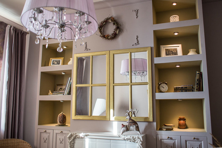 Фотография: Декор в стиле Прованс и Кантри, Классический, Эклектика, Квартира, Проект недели – фото на InMyRoom.ru