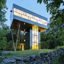 Фотография: Архитектура в стиле Современный, Дом, Дома и квартиры, Панорамные окна – фото на InMyRoom.ru