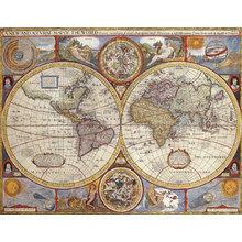 Картина (репродукция, постер): Карта старинная 1626г
