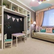 Фотография: Детская в стиле Современный, Квартира, Дом, Планировки, Мебель и свет, Советы – фото на InMyRoom.ru