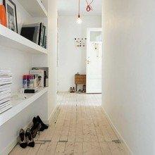 Фотография: Прихожая в стиле Скандинавский, Интерьер комнат, Ковер – фото на InMyRoom.ru