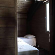 Фотография: Спальня в стиле , Дом, Дома и квартиры, Минимализм, Шале, Пол, Дом на природе, Альпы – фото на InMyRoom.ru