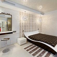 Фото из портфолио Дизайн спальни в стиле Ар-деко  – фотографии дизайна интерьеров на InMyRoom.ru