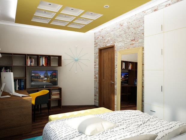 Фото из портфолио Три детские комнаты – фотографии дизайна интерьеров на INMYROOM