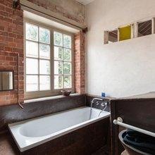 Фотография: Ванная в стиле Лофт, Квартира, Терраса, Дома и квартиры, Лондон, Мансарда – фото на InMyRoom.ru