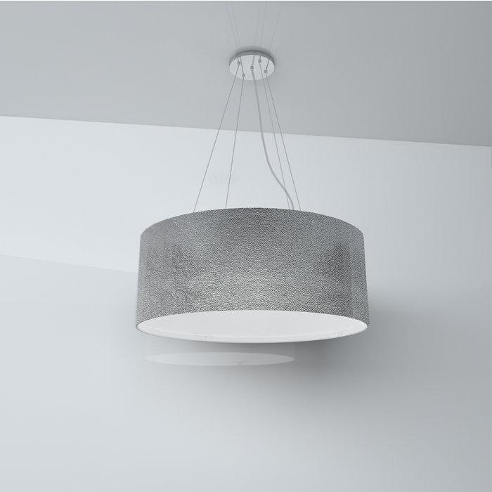 Подвесная люстра LightTexture с абажуром из экокожи
