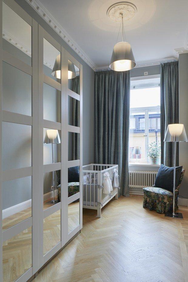 Фотография: Детская в стиле Классический, Современный, Декор интерьера, Квартира, 4 и больше, Более 90 метров – фото на InMyRoom.ru