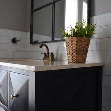 Фотография: Ванная в стиле Кантри, Декор интерьера, Дом, Eames, Ju-Ju, pottery barn, Дома и квартиры, IKEA, Zara Home, Maison & Objet, Женя Жданова – фото на InMyRoom.ru