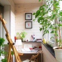 Фотография: Балкон, Терраса в стиле Кантри, Современный, Кабинет, Стиль жизни, Советы – фото на InMyRoom.ru