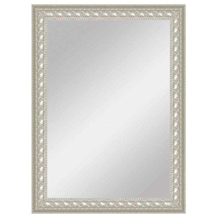"""Зеркало большое в серебристой раме """"Аюна"""""""
