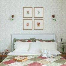 Фотография: Спальня в стиле Кантри, Классический, Эклектика, Дом, Проект недели – фото на InMyRoom.ru