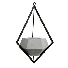 Подвесное кашпо Ruby из бетона