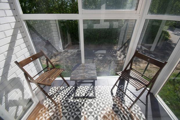Фотография: Балкон в стиле Современный, Квартира, Студия, Проект недели, до 40 метров, Маргарита Фомина, Люберецкий район – фото на INMYROOM