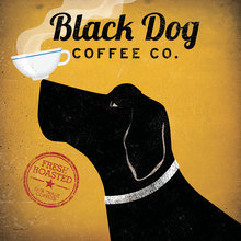 Картина (репродукция, постер): Black Dog Coffee Co - Райан Фоулер