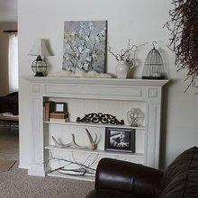Фотография: Гостиная в стиле , Декор интерьера, Декор дома, Камин – фото на InMyRoom.ru
