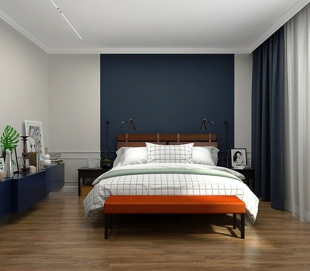 Фотография: Спальня в стиле Современный, Декор интерьера, Советы, Виктория Золина, Zi-Design Interiors, #каксэкономить – фото на InMyRoom.ru