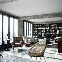 Фото из портфолио Чердак с видом на Париж – фотографии дизайна интерьеров на INMYROOM