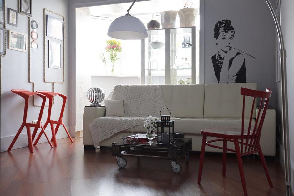 Фотография: Гостиная в стиле Лофт,  – фото на InMyRoom.ru