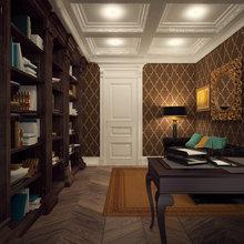 Фото из портфолио Кабинет – фотографии дизайна интерьеров на InMyRoom.ru